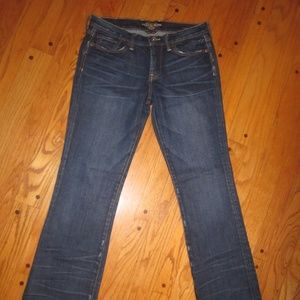 LUCKY BRAND SWEET'N LOW BOOT CUT JEANS 6 R WOMENS